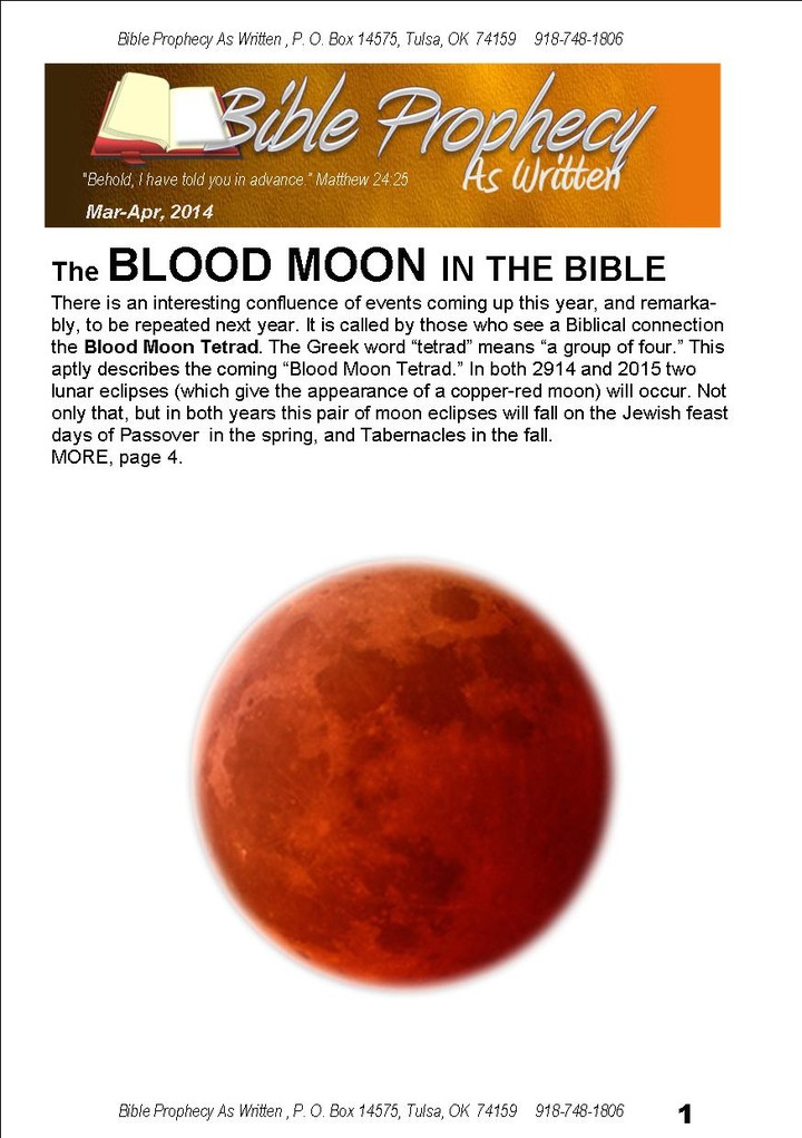 Prophecies of Blood